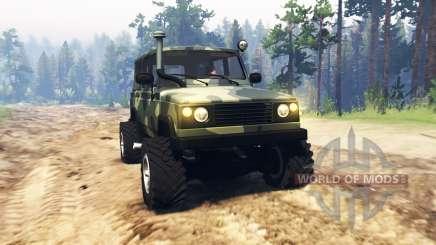УАЗ 3172 Разведчик для Spin Tires