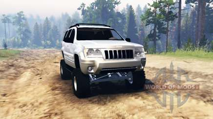 Jeep Grand Cherokee (WJ) 2004 для Spin Tires
