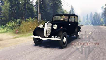 ГАЗ М1 для Spin Tires