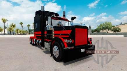 Скин Stani Express на тягач Peterbilt 389 для American Truck Simulator