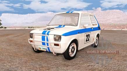Fiat 126p v5.0 для BeamNG Drive