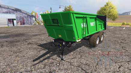 Huret 18T v3.0 для Farming Simulator 2013