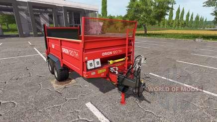 SIP Orion 120 TH для Farming Simulator 2017
