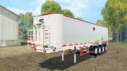 MAC dump semitrailer для Farming Simulator 2015