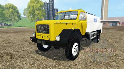 Magirus-Deutz 200D26 1964 milk для Farming Simulator 2015