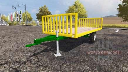 Bale trailer для Farming Simulator 2013