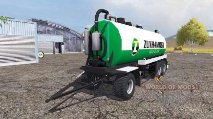 Zunhammer manure transporter для Farming Simulator 2013