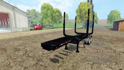 Logging semitrailer для Farming Simulator 2015