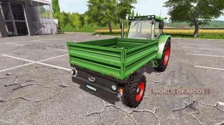 Fendt GT255 v1.0.0.2 для Farming Simulator 2017