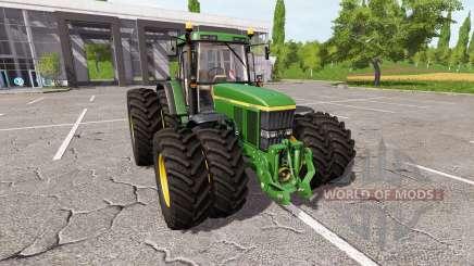 John Deere 7710 v1.5 для Farming Simulator 2017