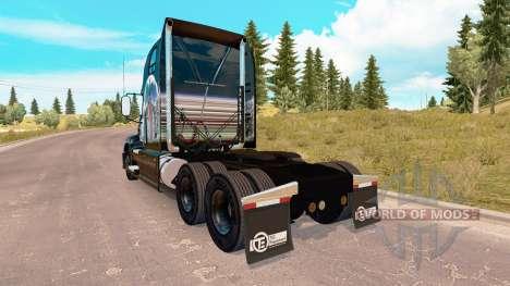 Скин Indian Summer на тягач Mack Pinnacle для American Truck Simulator