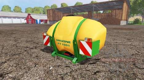 AMAZONE FT 1001 v1.1 для Farming Simulator 2015