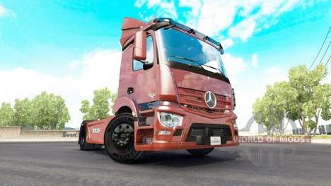 Mercedes-Benz Antos 1840 для American Truck Simulator