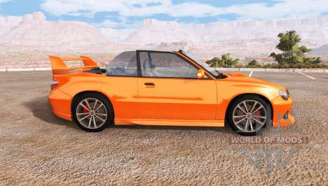 Hirochi Sunburst Sport RS для BeamNG Drive