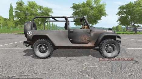 Jeep Wrangler для Farming Simulator 2017