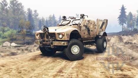 Oshkosh M-ATV для Spin Tires