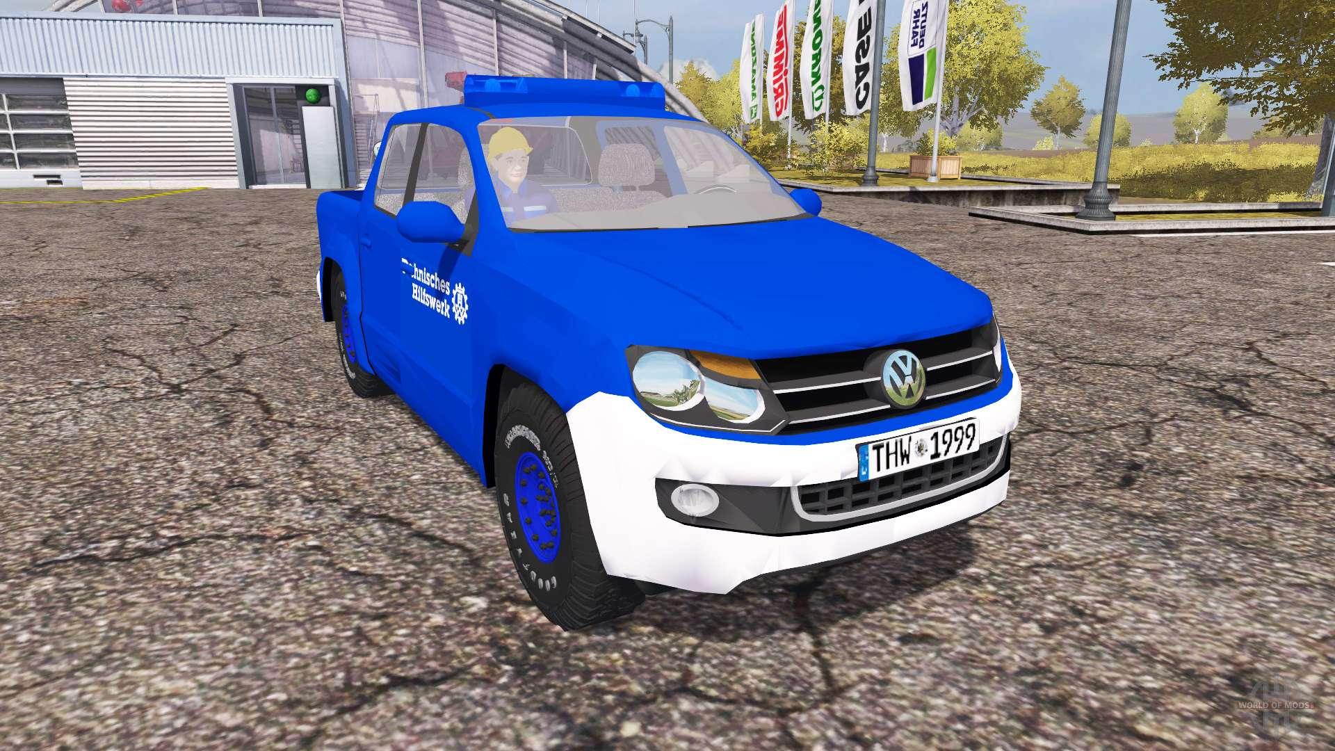 volkswagen amarok farming simulator 2013