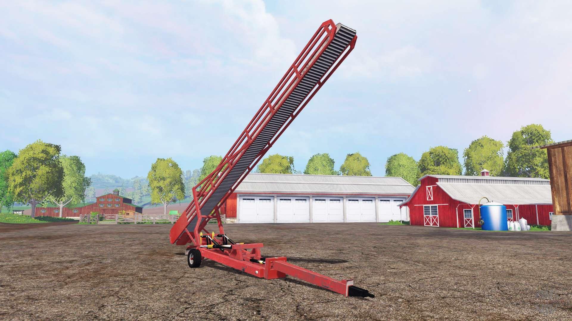 Конвейер фермер симулятор 2015 конвейеры для грунта