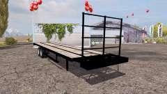 Flatebed trailer для Farming Simulator 2013