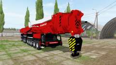 Liebherr LTM 11200-9.1 Mammoet speed lift