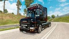 Скин Predator на тягач Scania T-series