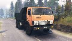 КамАЗ 55111 для Spin Tires