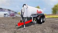 Fuchs tank manure v2.0 для Farming Simulator 2013