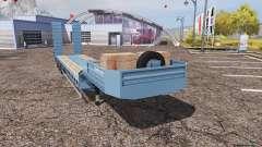 Lowboy blue для Farming Simulator 2013