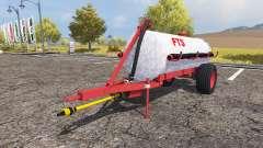 Tank manure v2.0 для Farming Simulator 2013