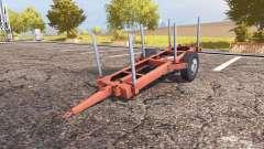 Timber trailer для Farming Simulator 2013