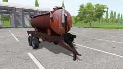 Trailer tank