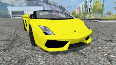 Lamborghini Gallardo LP 560-4 Spyder 2009 для Farming Simulator 2013