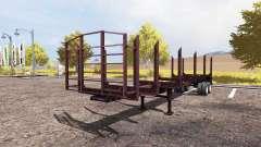 Timber semitrailer