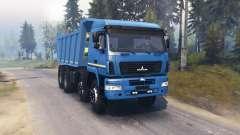МАЗ 6516В9 для Spin Tires