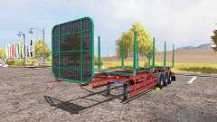 Kogel timber trailer для Farming Simulator 2013