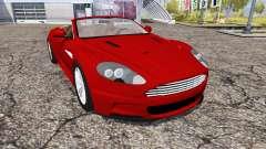 Aston Martin DBS Volante 2010 для Farming Simulator 2013
