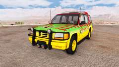 Gavril Roamer Tour Car Jurassic Park для BeamNG Drive
