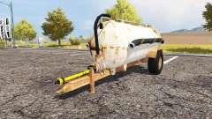 Rusty slurry tanker для Farming Simulator 2013