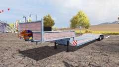 Low loader big для Farming Simulator 2013