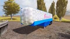 Milk tank semitrailer для Farming Simulator 2013
