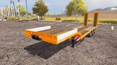 Schwarzmueller low loader semitrailer