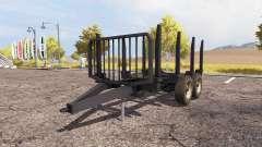 Forestry trailer для Farming Simulator 2013