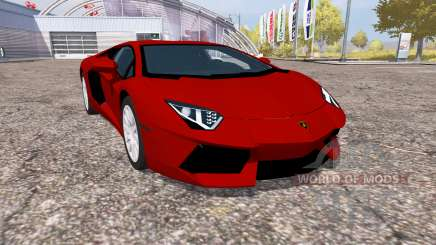 Lamborghini Aventador LP 700-4 (LB834) для Farming Simulator 2013