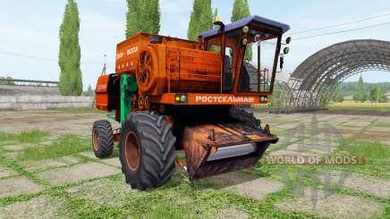 Дон 1500А для Farming Simulator 2017