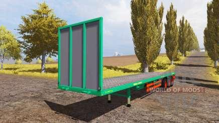 Aguas-Tenias bale semitrailer для Farming Simulator 2013