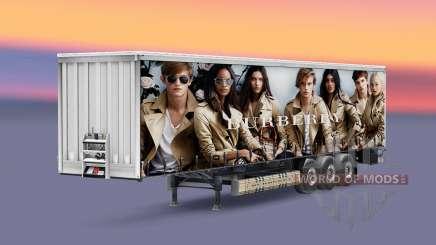 Скины люксовых брендов на полуприцеп для Euro Truck Simulator 2