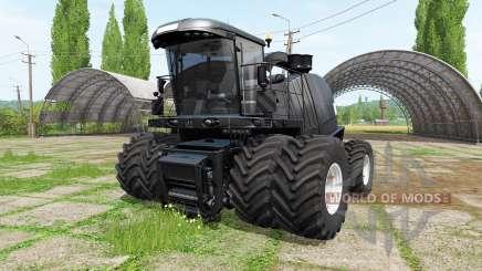 Krone BiG X 1100 black hammer v2.1 для Farming Simulator 2017