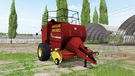 New Holland BigBaler 980 v2.1 для Farming Simulator 2017