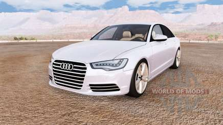 Audi A6 (C7) v1.1 для BeamNG Drive