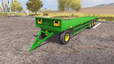 NC bale trailer для Farming Simulator 2013